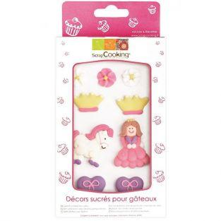 Sweet cake decorations - Princess
