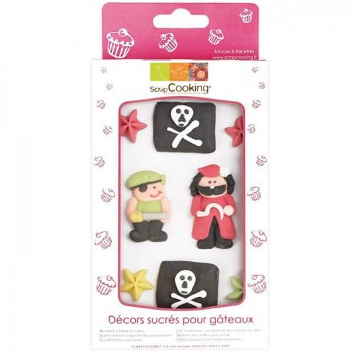 Sweet cake decorations - Pirate