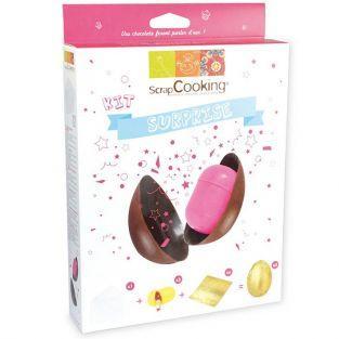 kit œuf de Pâques en chocolat surprise