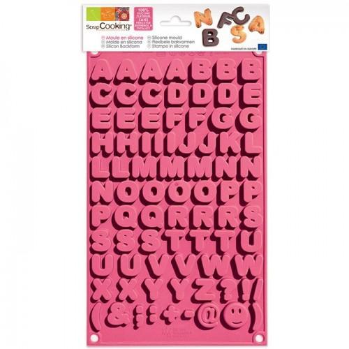 Moule à chocolats - Alphabet