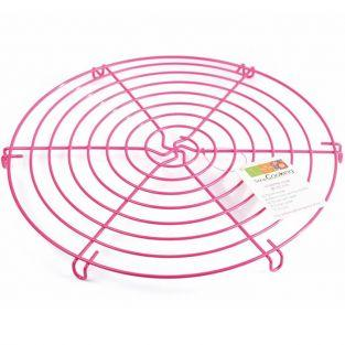 Pink support - food grid Ø 32 cm