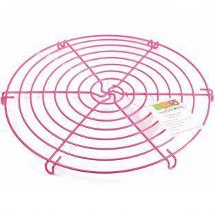 Volette rose - grille alimentaire Ø 32 cm