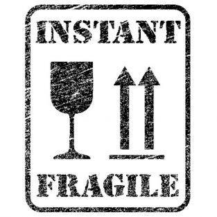 Tampon bois - Instant fragile