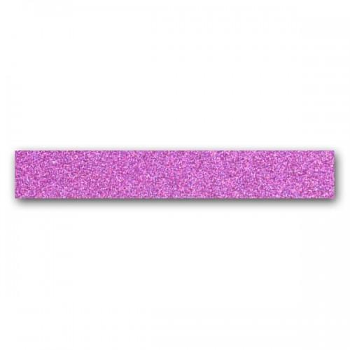 Masking Tape violet fluo à paillettes