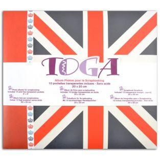 Album Londres 20 x 20 cm