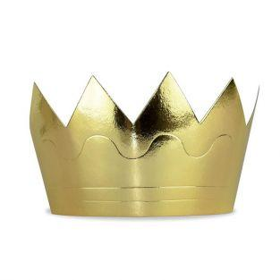 6 König / Königin Kronen