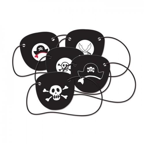 5 Pirate eyepatches