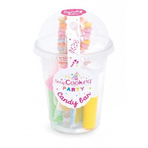Caja de caramelos de color