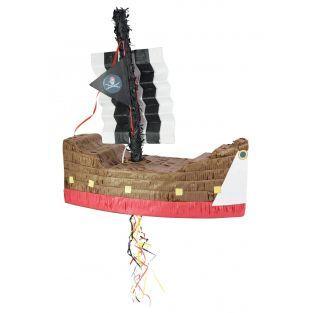 Piñata pirate ship