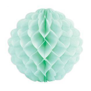 Boule alvéolée vert d'eau Ø...