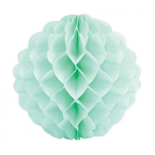 Esfera de papel verde Ø 25 cm