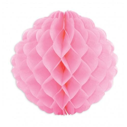Paper Honeycomb Ball Ø 25 cm - pink