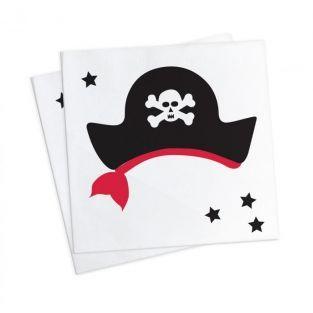 20 Papiertücher 25 x 25 cm - Pirat
