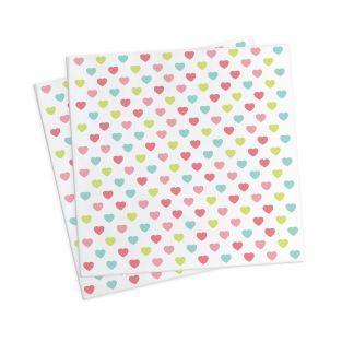 20 Papiertücher 25 x 25 cm - Prinzessin