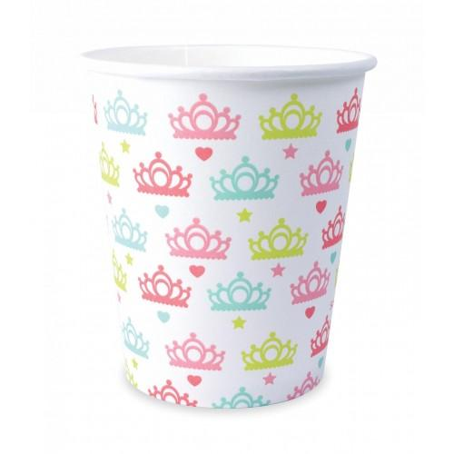 8 paper cups 25 cl - Princess