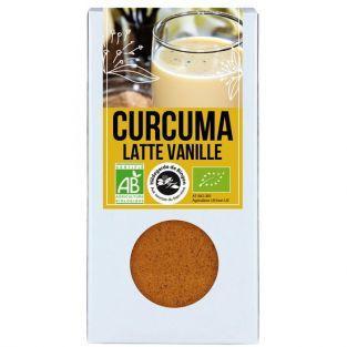 Latte au Curcuma & Vanille...