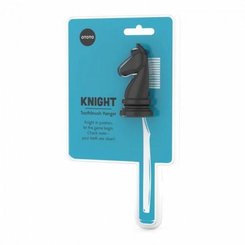 Porte brosse à dents - Cheval noir