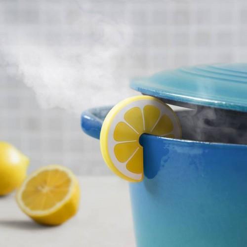 Steam escapes Lemon