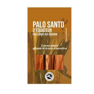 Palitos de madera en polvo - Palo Santo