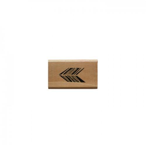 Wood stamp - arrow