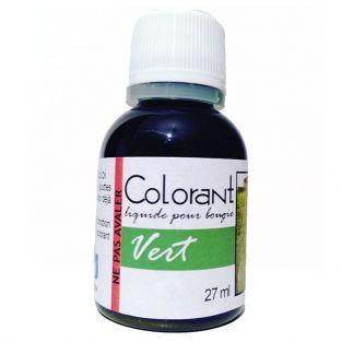 colorant pour bougie 27 ml vert - Colorant Pour Bougie