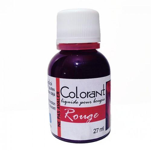 Colorante para velas - Rojo - 27 ml