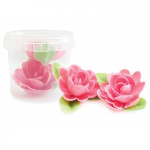 Decoraciones sin levadura - 2 Rosas