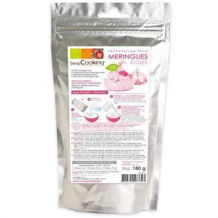 Préparation pour meringues roses - 180 g