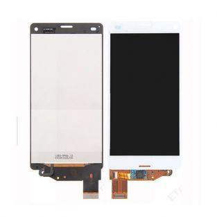 Vitre tactile + écran LCD Retina assemblé Sony Xperia Z3 compact M55W D5803 blanc