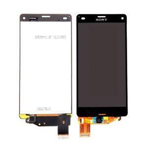 Vitre tactile + écran LCD Retina assemblé Sony Xperia Z3 compact M55W D5803 noir