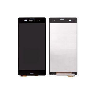 Vitre tactile + écran LCD Retina assemblé Sony Xperia Z3 L55t D6603 noir