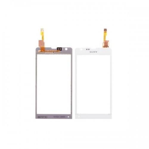 Vitre écran tactile blanche pour Sony Xperia SP M35H