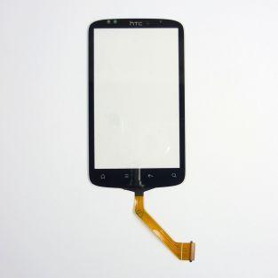 Vitre écran tactile noir pour HTC Desire S G12