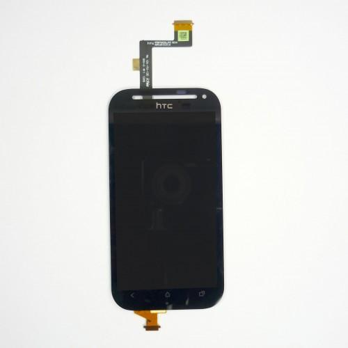 Vitre tactile écran LCD Retina noir pour HTC One SV C525e