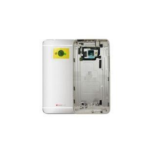 Coque arrière silver pour HTC one M7