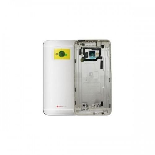 Tapa posterior para HTC one M7 - Plateado