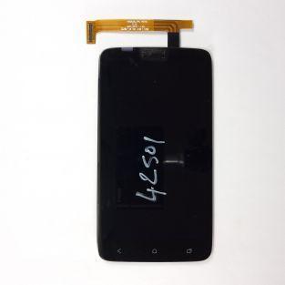 Vitre tactile écran LCD Retina noir pour HTC One XL