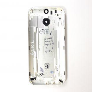 Coque arrière silver HTC One M8