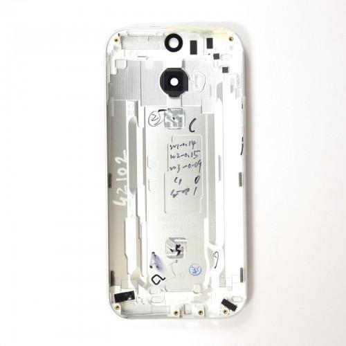 HTC One M8 rear cover - Silver