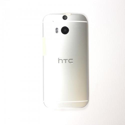 Tapa posterior HTC One M8 - Plateado