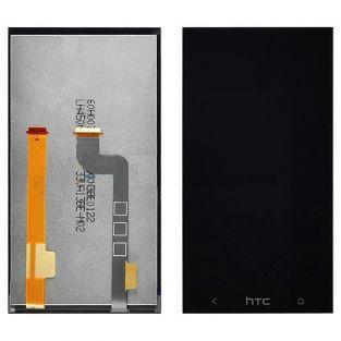 Vitre tactile écran LCD Retina noir pour HTC desire 601