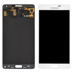 Original Vitre tactile écran LCD Samsung Galaxy A7 A700F blanc
