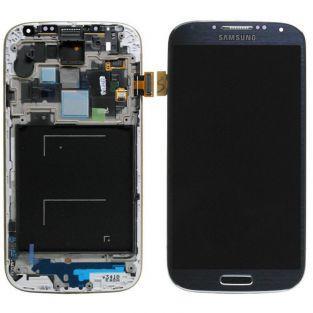 Original Vitre tactile écran LCD sur châssis Samsung Galaxy S4 Advance I9506 noir