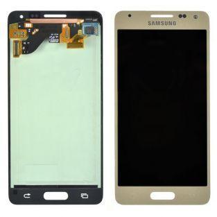 Original Vitre tactile écran LCD Samsung Galaxy Alpha G850F doré