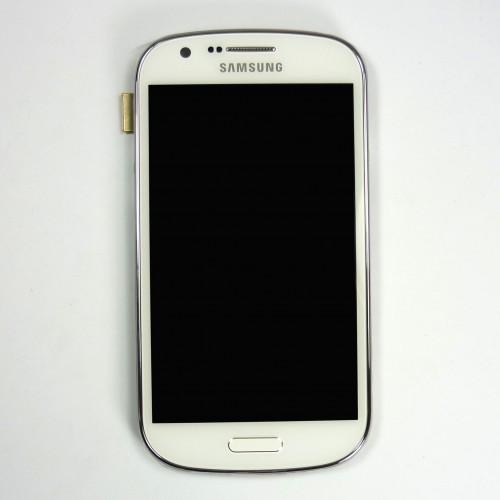 Original Samsung Galaxy Express I8730 LCD Touchscreen with frame - White