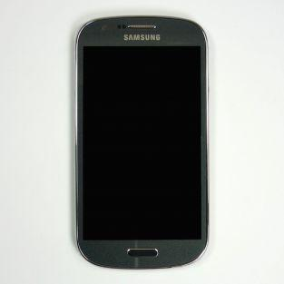 Original Samsung Galaxy Express I8730 LCD Touchscreen with frame - Grey