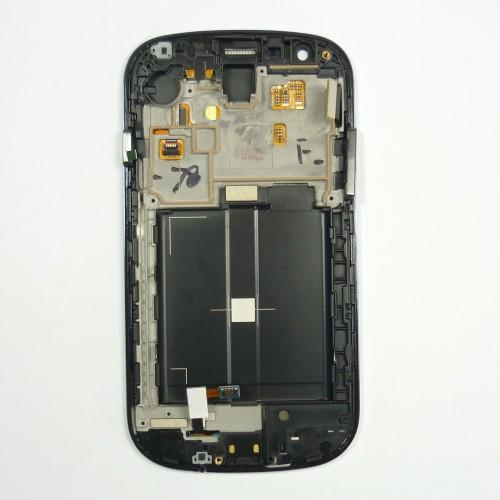 Pantalla táctil LCD original completa para Samsung Galaxy Express I8730 - Gris