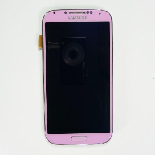 Original Samsung Galaxy S4 I9505 LCD Touchscreen with frame - Pink