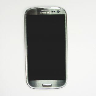 Original Samsung Galaxy S3 I9305 LCD Touchscreen with frame - Grey