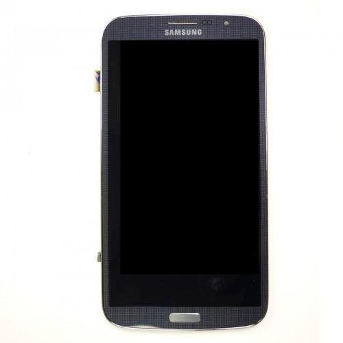 Original Vitre tactile écran LCD sur châssis Samsung Galaxy Mega I9205 noir